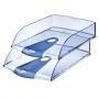 Лоток горизонтальный,  Allura /прозрачно-голубой/  Leitz