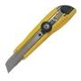 Нож канцелярский, большой, профессиональный , в пластиковой упаковке с европодвесом