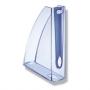 Лоток вертикальный, Allura /прозрачно-голубой/  Leitz