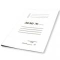 Папка ДЕЛО, 330 г/м, немелованный картон, пробитый механизм. ЕВРО