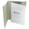 Папка-обложка, ДЕЛО, 330 г/м., немелованная картон.  ЕВРО