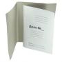 Папка-обложка, ДЕЛО, 440 г/м., мелованная картон.  ЕВРО