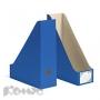Вертикальный накопитель Комус синий, сборный (100мм, гофрокартон, 2шт./уп.)