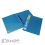 Папка скоросшиватель с пружинным механизмом ATTACHE Металлик синий