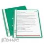 Папка скоросшиватель Durable А4 зеленый пластиковый (ушки)