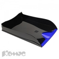 Лоток для бумаг EXACOMPTA 140210D черный/синий