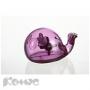 Диспенсер для клейкой ленты Felli Кит (фиолетовый ,65х55х130мм)