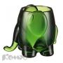 Подставка для ручек Felli Слон (зеленый, 1 отделение, 65х55х130мм)