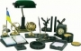 Набор настольный из зелёного мрамора, 15 предметов BUROMAX BM.6600-15