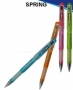 Ручка гелевая SPRING, 0.7мм, черная