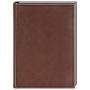 Ежедневник датированный Atlantic, А5, белый блок, без обреза, Happy Book