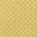 Бумага для скрапбукинга с текстурой точки, 30,5х30,5 см, светлая охра