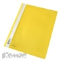 Папка скоросшиватель Комус А4 желтый
