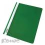Папка скоросшиватель Комус А4 зеленый