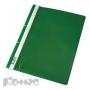 Папка скоросшиватель Комус А4 с перфорацией зеленый
