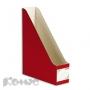 Вертикальный накопитель Комус красный, сборный (75мм, гофрокартон, 2шт./уп.)