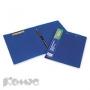 Папка скоросшиватель с пружинным механизмом+зажим ATTACHE синий