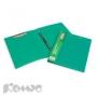 Папка скоросшиватель с пружинным механизмом + зажим ATTACHE зеленый