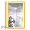 Папка скоросшиватель A4 Attache желтый, Россия