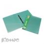 Папка скоросшиватель с пружинным механизмом ATTACHE Металлик зеленый