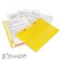 Папка скоросшиватель Bantex A4 желтый, Польша