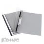 Папка скоросшиватель Durable А4 серый пластиковый (ушки)