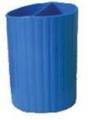 Подставка для ручек круглая, ZiBi, цвет синий