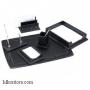 Настольный деревянный набор, МДФ, 6 предметов, дуб_черный, Good Sunrise BK6DX-1
