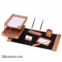 Настольный деревянный набор, 7 предметов, дуб_светлый, Good Sunrise K7D-35A