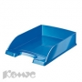 Лоток для бумаг Leitz WOW синий глянец '52263036