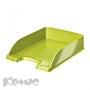 Лоток для бумаг Leitz WOW салатовый глянец '52263064