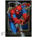 Дневник школьный  Spiderman д/мл.кл, интегр.обл, фольга, выб.лак, конгрев