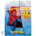 Дневник школьный Человек-Паук универсальный, намагните, фольга