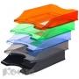 Лоток для бумаг КОМУС Shadow зеленый тонир. 2 шт/упк