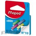 Скобы к степлеру ?10 MAPED цветные в ассорти.