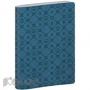 Бизнес-тетрадь  Lege Artis  16х21см 192стр.фактурн кожзам,клетка,синий