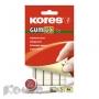Клейкая лента Kores Gum Fix (белая, 84 шт/уп)