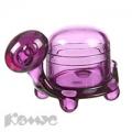 Скрепочница Felli Черепаха (фиолетовый, 50х45х130мм)