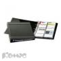 Визитница Durable Visifix на 400 визиток (антрацит)