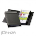 Визитница Durable Visifix на 200 визиток (антрацит)