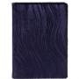 Ежедневник полудатированный Louvre, А6+, фиолетовый, бежевый блок, золотой обрез, ляссе, карта, Happy Book