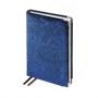 Ежедневник полудатированный Charm, бежевый блок, серебряный обрез, ляссе, карта, Happy Book